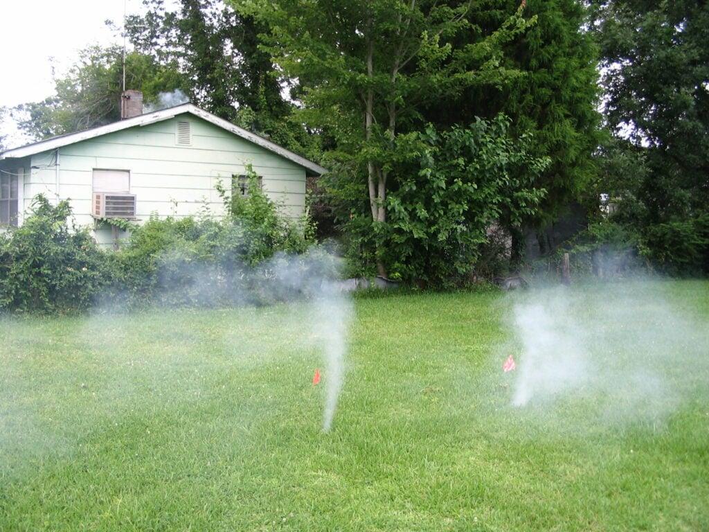 Smoke Testing Photo